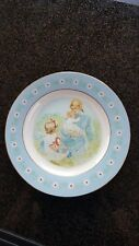 "Avon Tenderness Decorative Plate Mother & Children 1974 by Anderson 9.25"" Spain"
