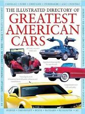 The Illustrated Directory of Greatest American Cars (2012, Hardcover)
