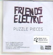 (CU101) Friends Electric, Puzzle Pieces - 2011 DJ CD