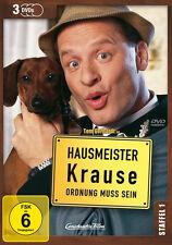 3 DVDs * HAUSMEISTER KRAUSE - STAFFEL 1 ~ Tom Gerhardt # NEU OVP +