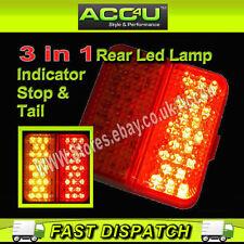 12v Caravan Trailer Towing Board 3 Function Stop Tail Indicator LED Lamp Light