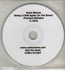 (CJ156) Rosie Nimmo, Being A Child Again (In the Snow) - 2010 DJ CD