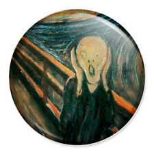 """The Scream 25mm 1"""" Pin Badge Button Classic Art Painting Edvard Munch"""