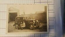 Foto old photo auto Balilla e bambini K56 ^