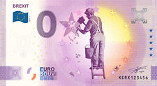 Billets Zero Euro Schein Souvenir Touristique 2021 Brexit XERX