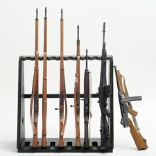 1/6 Weapon Wood Storage Rack Stand Rifle Rack Dragon Model Toys F 10-Gun Figure