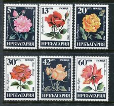 Bulgaria 3075-3080, MNH,  Flowers Roses 1985. x27123