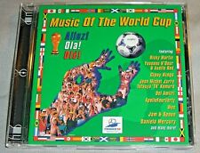 Allez!Ola!Ole! MUSIC OF THE WORLD CUP Ricky Martin Cup of Life CD promo album NM