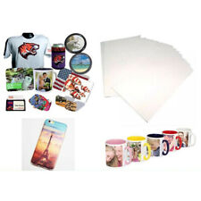 20 Pcs A4 Heat Transfer Paper Dye Sublimation Mug Cup Plate T-Shirt Crafts DIY