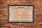 1924 ALCOHOL PROHIBITION WHISKEY PRESCRIPTION 11X17 AUTHENTIC COPY