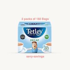 Tetley Everyday Tea Bags Decaffeinated Two x160 Packs