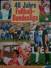 40 Jahre Bundesliga - das große Buch vom Fußball