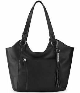 The Sak Sierra Black Leather Shopper Bag $199 w/ Free gift with purchase!