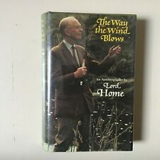 More details for politics signed book - pm lord home - the way the wind blows