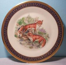 Lenox Woodland Wildlife Red Foxes Boehm 1974