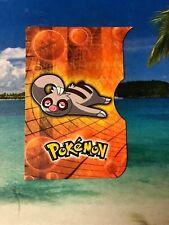 2004 TOPPS POKEMON SLAKOTH EMBOSSED EVOLUTION CARD #10 NINTENDO