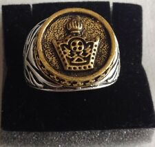 C-MIDDLE EAST,STUNNING IMPERIAL CROWN RING,SIZE UK S,US AND CANADA 9 1/4.10 GR