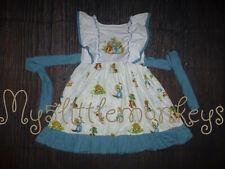 NEW Boutique Peter Rabbit Sleeveless Girls Ruffle Easter Dress