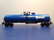 "HO Scale ""Qmark"" Single Dome Tanker Train / Mehano Brand"