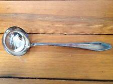 Vtg Bruckmann Silverplate B90 Soup Punch Ladle Serving Spoon Antique Flatware