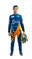 F1 Team McLaren 2019 sparco Printed go kart race suit,In All Sizes