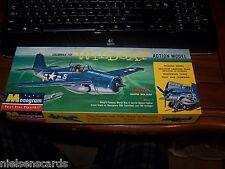 Vintage Monogram Grumman F4F Wildcat  plastikit PA66-98 1960
