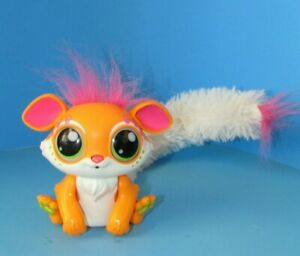 "Lil' Gleemerz ""Glorange"" Interactive Furry Friend Lights Up & Speaks 5"" L@@K"