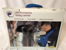 Ergo Baby performance bay carrier denim blue color