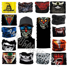 Face Mask Balaclava Biker Skull Motorcycle Helmet Neck Warm Winter Weather Sport