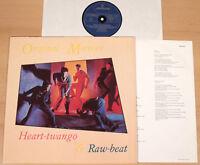 ORIGINAL MIRRORS - Heart-twango Raw-beat  (MERCURY, D 1981 + OIS / LP NEAR MINT)