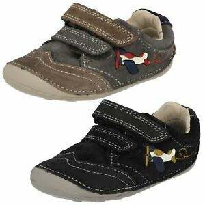Boys Clarks Cruiser First Shoes - Tiny Liam
