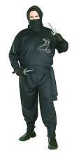 Mens Ninja Costume Assassin Warrior Japanese Cospaly Adult Plus Size