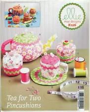 KWIK SEW SEWING PATTERN 126 TEAPOT, TEA CUP & CAKES PIN CUSHIONS / PINCUSHIONS