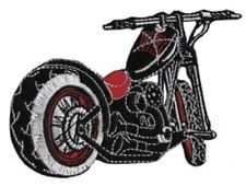 Motorcycle Chopper Embroidered Patch M021P Biker Harley Davidson Triumph Indian