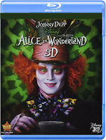 Alice in Wonderland [3D Blu-ray] ~ Johnny Depp ~ Factory Sealed ~ NEW!