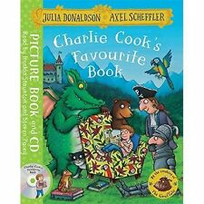 Charlie Cook's Favourite Book: Book and CD Pack by Julia Donaldson (Mixed...