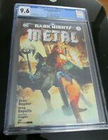 Dark Nights Metal #1 Jetpack/Forbidden Planet Bill Sienkiewicz Variant CGC 9.6