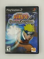 Naruto: Uzumaki Chronicles - Playstation 2 PS2 Game - Complete & Tested