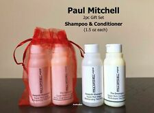 PAUL Mitchell SHAMPOO and CONDITIONER Large DOUBLE Size 1.5 oz each Travel