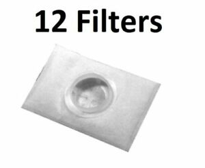 12 Exhaust After Filters for Electrolux 2100 6500 Epic Canister Vacuum Cleaner