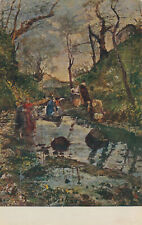 PC59551 Painting Postcard. E. Gola. Little Valley in Mondonico