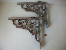 quality pair   Cast Iron toilet Brackets   shelf brackets  J Duckett & son large