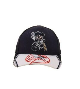New Era New York Yankees Mickey Mouse 9Forty 940 MLB Youth Kids Adjustable Hat