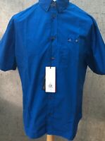 C.P. Company Short Sleeve Popeline Blue (849) Shirt Rare Brand New With Tags