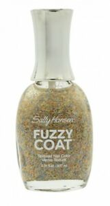 SALLY HANSEN NAIL POLISH FUZZY COAT 9.14ML - 200 ALL YARNED UP - WOMEN'S. NEW