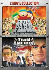 South Park: Bigger, Longer & Uncut/Team America: World Police NEW DVD Free Ship