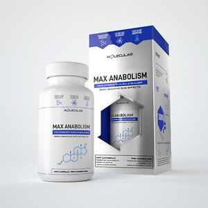 MAX ANABOLISM: THE STRONGEST MUSCLE TESTOSTERONE BOOSTER / CREATINE / PROTEIN