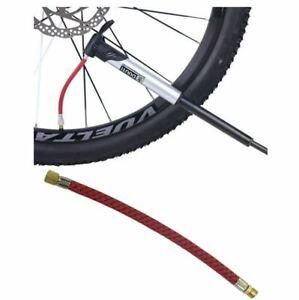 Needle Valve Pump Extension Hose Bicycle Bike Hose Adapter Tube Pipe Cord UK