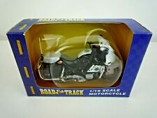 MAISTO ROAD & TRACK SERIES DIE-CAST 1:18 STATE POLICE MOTORCYCLE