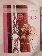 Livre Bijoux objets à faire soi-même cristal, ruban et laine /R29